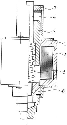Электромагнитный ударный механизм