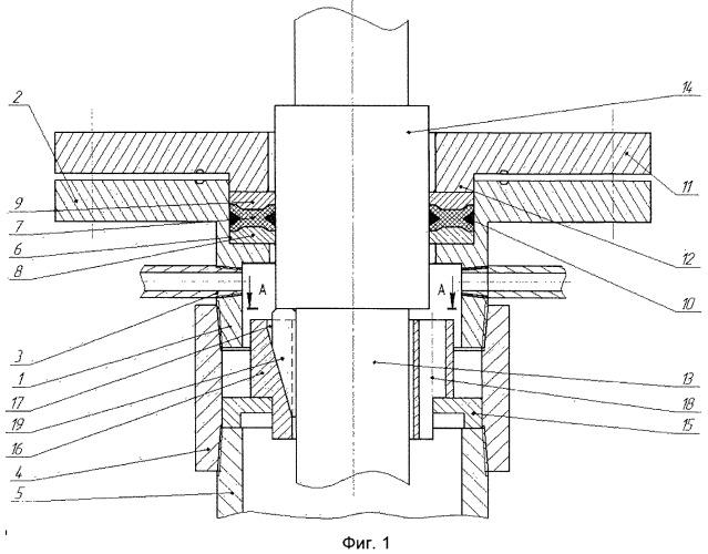 Устройство для герметизации межколонного пространства на устье скважины