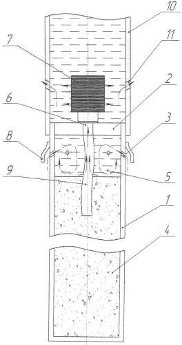 Устройство для подачи реагента в скважину