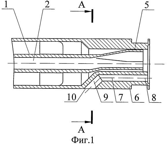 Способ подачи компонентов топлива в камеру трехкомпонентного жидкостного ракетного двигателя