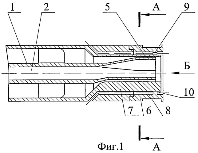 Способ подачи компонентов топлива в камеру трехкомпонентного жидкостного ракетного двигателя и соосно-струйная форсунка для реализации указанного способа