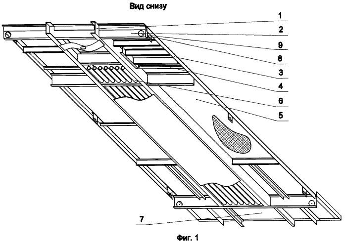 Рама передвижной компрессорной станции