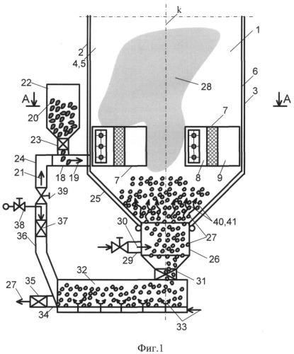 Способ работы вертикальной призматической топки
