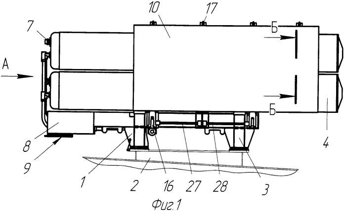 Пусковая установка для оружия типа торпеды