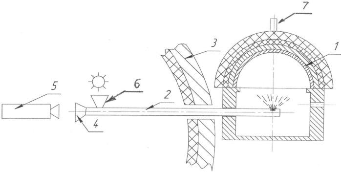 Система регистрации параметров движущейся поверхности в быстропротекающих процессах