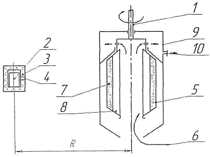 Способ контроля накопления радиоактивного осадка в центрифуге