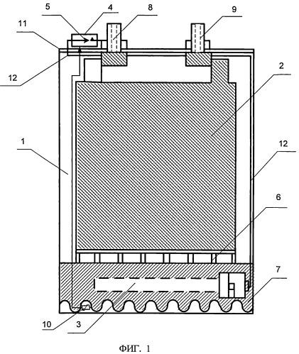 Универсальный аккумулятор с термостатированием