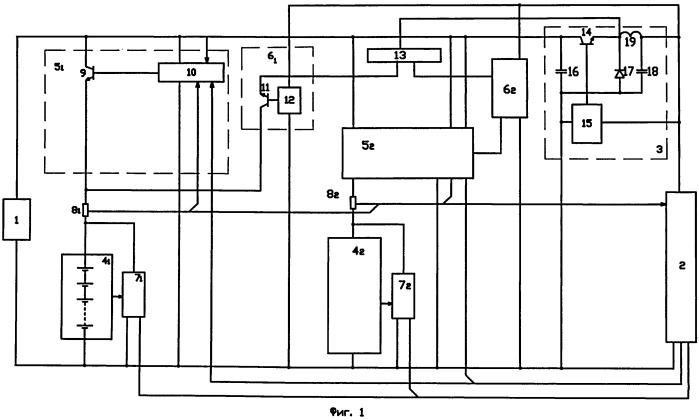 Способ питания нагрузки постоянным током в автономной системе электропитания искусственного спутника земли