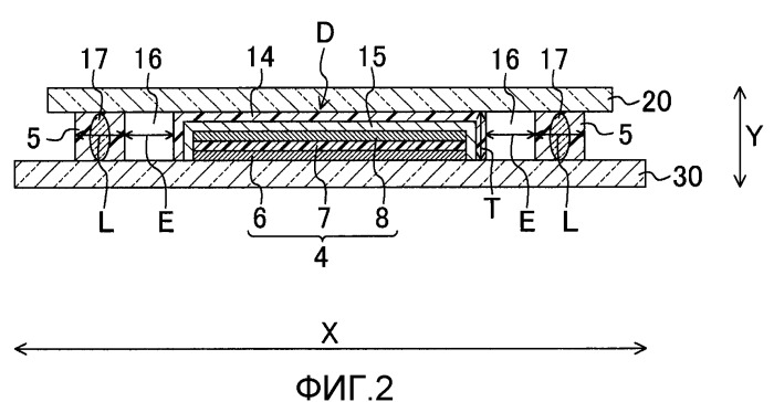 Органическое электролюминесцентное устройство отображения и способ его изготовления