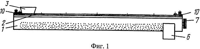 Шнек-сепаратор для обезвоживания волокнистого материала