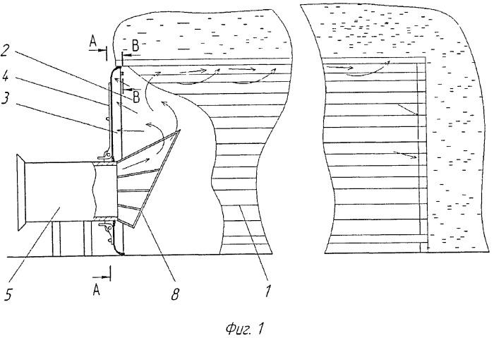 Установка для досушивания сена в скирдах