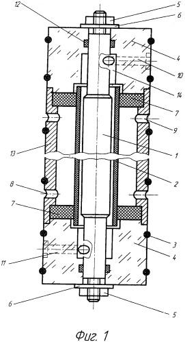 Проточный электролитический элемент модульного типа