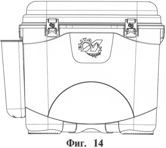 Ящик рыболовный и способ его изготовления