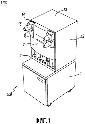 Интегрированный способ и система для дозирования и перемешивания/смешивания ингредиентов напитка