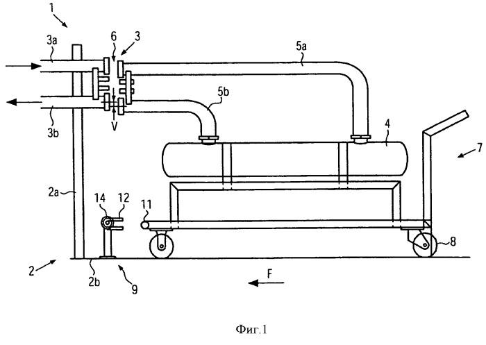 Устройство для обработки, в частности фильтрации, жидкостей