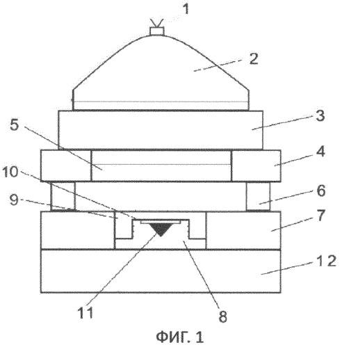 Устройство для нагружения ударной волной образцов конической формы и для их сохранения после нагружения