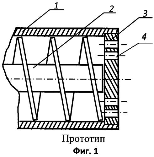 Гранулирующий шнековый пресс для формования катализаторных паст