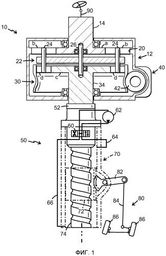 Устройство для активного рулевого управления транспортным средством и механизм рулевого управления с таким устройством