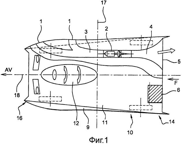 Наземное транспортное средство, оборудованное системой тяги от внутреннего воздушного потока