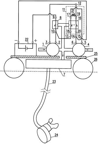 Портативный аппарат для дыхания под водой