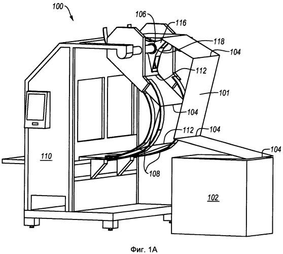 Система подачи, машина для переработки с ее использованием и пакет фальцованного материала