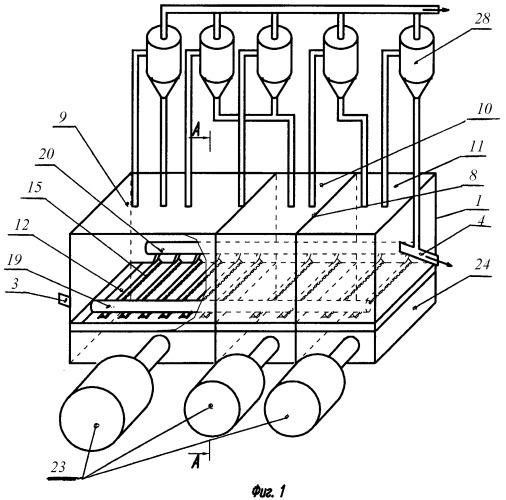 Печь кипящего слоя для обезвоживания хлормагниевого сырья