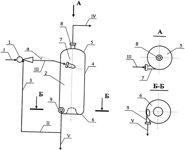 Способ и устройство для жидкофазной термической конверсии тяжелого углеводородного сырья