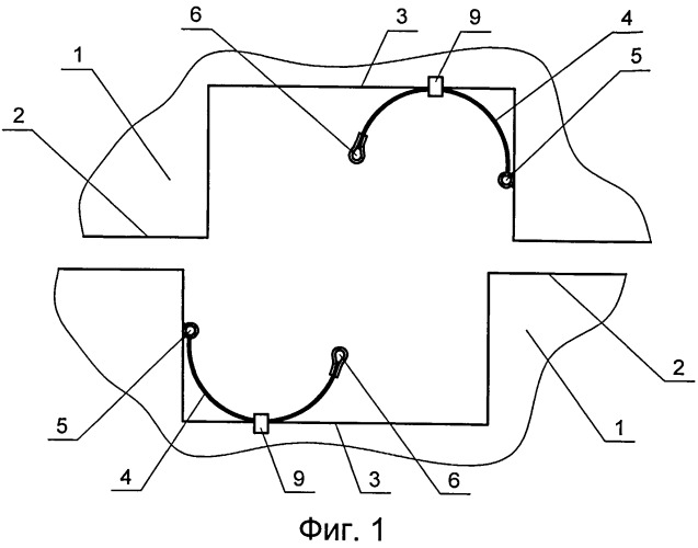 Узел герметизации стыков ограждающих конструкций искусственных грунтовых островов