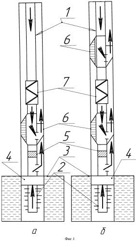 Компоновка для освоения скважин с низкопроницаемыми пластами с использованием гидроструйных насосов и генератора импульсов давления