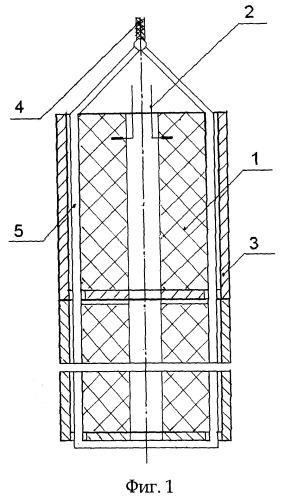 Устройство для обработки продуктивного пласта с твердотопливным зарядом и картузом