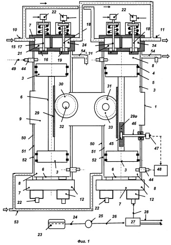 Свободнопоршневой двигатель