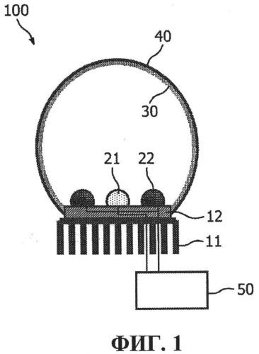 Светодиодный (сид) источник света, подобный gls