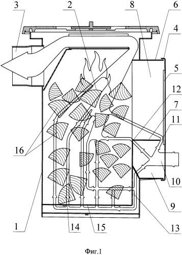 Способ обеспечения горения топлива в печи и печь для реализации указанного способа