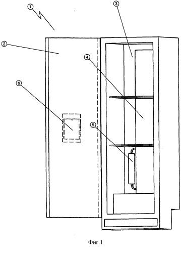 Устройство для охлаждения напитков, холодильник с таким устройством и способ охлаждения напитков