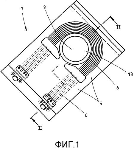 Блок охлаждения инжектора для удерживания по меньшей мере одного инжектора