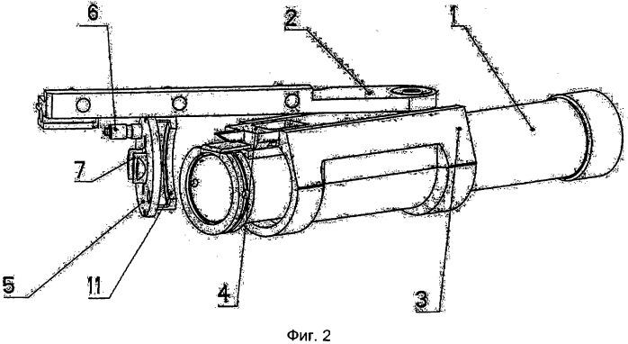 Огнестрельное оружие с поворотным стволом