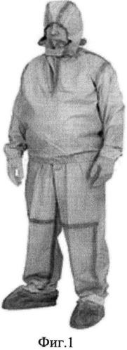 Легкий защитный костюм спасателя с защитным жилетом от электромагнитного излучения