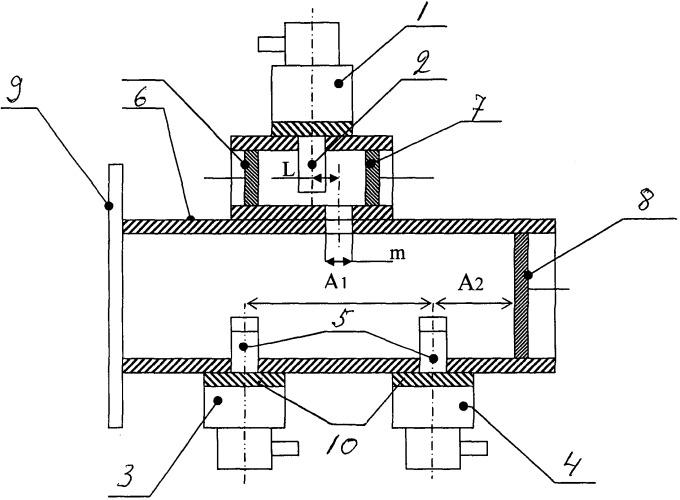 Устройство сложения мощностей трех свч-генераторов на магнетронах