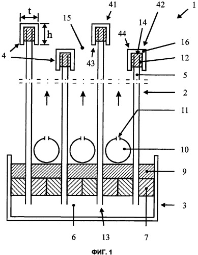 Модуль фильтрации с использованием капиллярных мембран