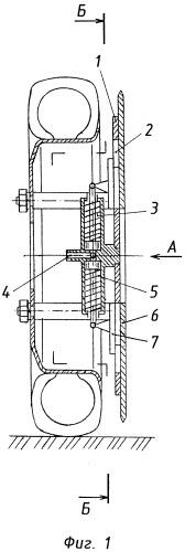 Приспособление к колесам для увеличения силы сцепления с грунтом