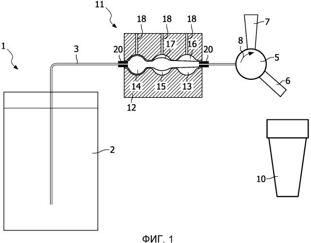 Бытовое устройство для выдачи напитка, имеющее охлаждающие средства
