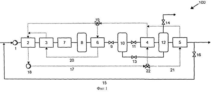 Способ и устройство для термического гидролиза органического материала