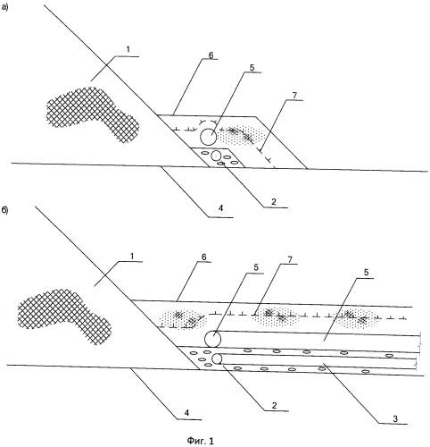 Гидроотвал с незамерзающей дренажной системой