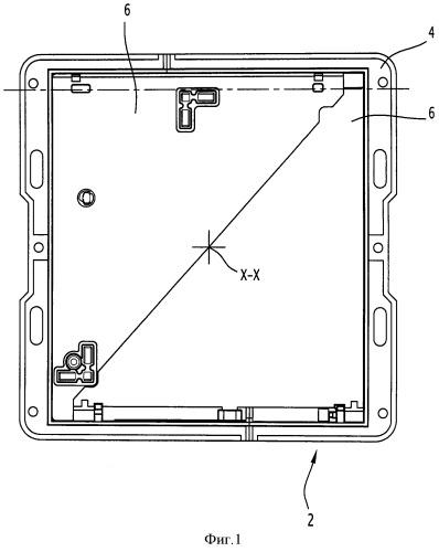 Шарнирный узел и соответствующее дорожное смотровое устройство