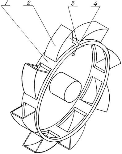 Рабочий орган роторного экскаватора