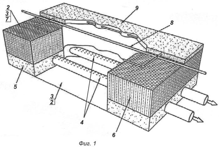 Резервуар для накопления и хранения поверхностных, ливневых и технических вод и способ его изготовления