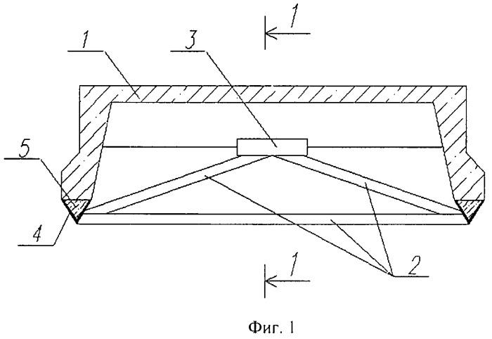 Устройство для усиления ребристой железобетонной плиты
