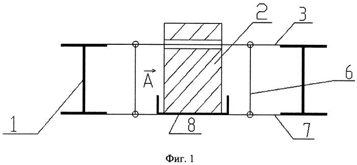 Устройство для укрепления перекрытия с деревянными балками