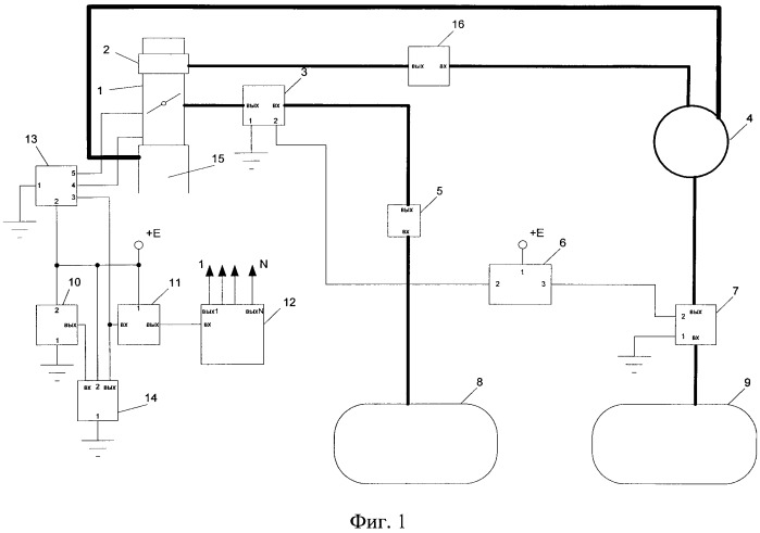 Система управления двухтопливным двигателем