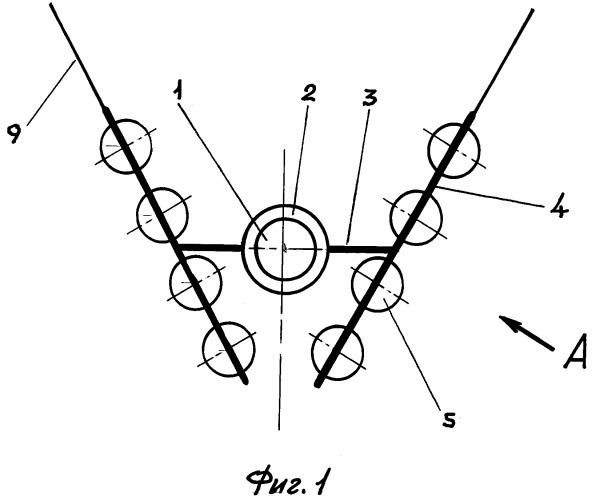 Поливиндроторный энергокомплекс материкового назначения
